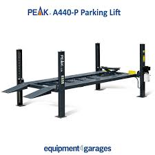 parking lift car storage ramp peak a440 p