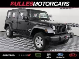 Used Jeep Wrangler Unlimited Used Jeep Wrangler Unlimited For Sale Search 10 288 Used