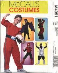 sewing pattern ninja costume sewing pattern 4951 boys size 3 6 halloween costumes super hero