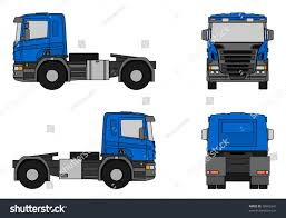 semi trailer truck semitrailer truck stock illustration 78953341 shutterstock