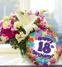 30th birthday flowers and balloons 22 best birthday flowers balloons images on glass