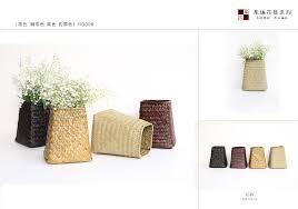 zakka metal barrel home decoration flower pots planters iron