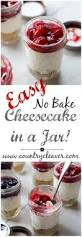 no bake cherry cheesecake in a jar country cleaver