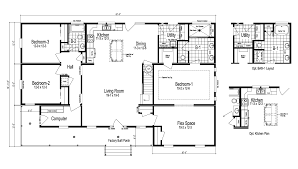 the greenbrier ii manufactured home floor plan or modular floor plans