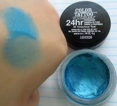 maybelline color tattoo tenacious teal reviews photos