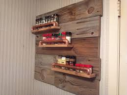 kitchen cabinet door storage racks cabinet door magnetic spice rack ideas for organize your kitchen