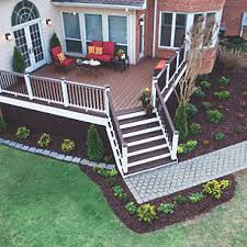 Decks And Patios Designs Trex Before And After Makeover Designs Of Decks And Patios Trex