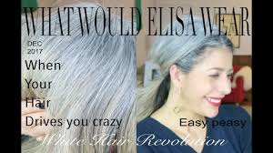 hair in a bun for women over 50 messy bun ponytail for over 50 rocking fashion life in my 50 s