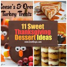 11 sweet thanksgiving dessert ideas