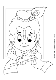 coloring download lord krishna coloring pages coloring pages of