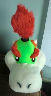 Bowser Halloween Costumes Bowser Jr Halloween Costume Head Twerkonthatshark Fur