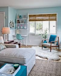 Beachy Bedroom Furniture by Teenage Beachy Looking Themed Bedroom Design With Blue Wall