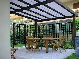 Awning System Terrace Rain Awning System Kover It Blog