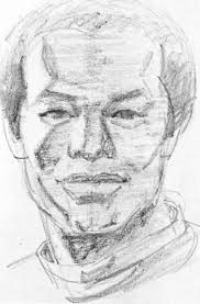glowing pencil shade drawing portrait drawing joshua nava arts
