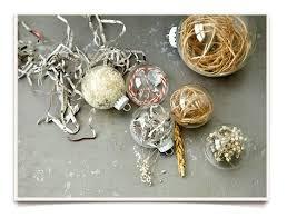 craft glass ornament ideas filled glass ornaments fill clear