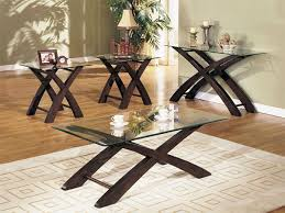 glass coffee table set of 3 glass coffee table set facil furniture