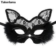 cat masquerade mask takerlama luxury venetian masquerade mask women lace