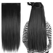 hair clip rambut china hair clip rambut palsu hitam lazada indonesia