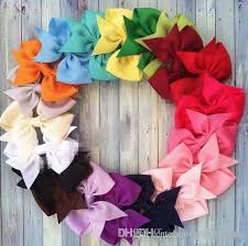 3 inch grosgrain ribbon wholesale hot sales 10 3 inch grosgrain ribbon hair big bow baby hair