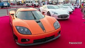 koenigsegg orange koenigsegg ccxr orange dubai auto trader uae event 28 02
