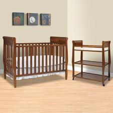Graco Convertible Crib With Changing Table Graco Cribs 2 Nursery Set Convertible Crib And