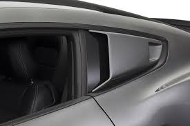 mustang window covers 2015 2017 mustang cervinis eleanor style quarter window scoops c