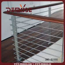 Wire Banister China Solid Wood Wire Balustrade Dms B2205 China Balcony