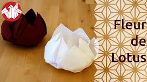 Pliage Serviette Papier Poinsettia by Origami Fleur De Lotus Lotus Flower Senbazuru Youtube