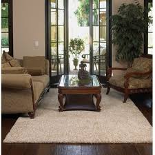 Shaw Area Rugs Shaw Uptown Polyester Premium Shag Area Rug 9 X 12