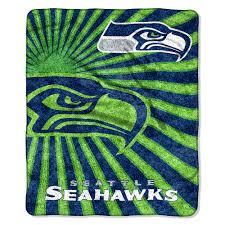 Seattle Seahawks Toaster Seahawks Sherpa Blanket