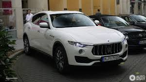 white maserati maserati levante s 9 september 2016 autogespot