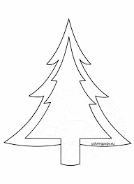 felt tree ornament coloring page felt christmas tree ornaments