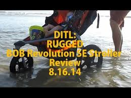Rugged Stroller Ditl Our Rugged Bob Revolution Stroller Review 8 16 14 Youtube