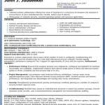Sample Resume For Experienced Linux System Administrator by Linux Administrator Cv Sample Vinodomia
