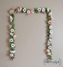 wedding garland wedding backdrop flower garland flower