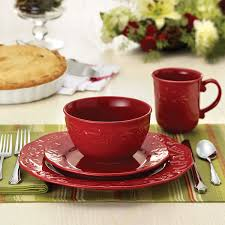 Paula Deen Dining Room Table by Amazon Com Paula Deen Signature Dinnerware Spiceberry Collection