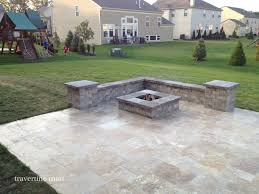 Patio Pavers Travertine Patio Pavers Cost Bedroom And Living Room Image