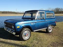 blue bronco car 1977 ford bronco last of the mohicans ebay motors blog