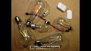 Led Light Bulb Dimmer by Dimming Led Lamps With Ordinary Dimmers Youtube