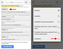 google pollutes chrome tabs with u0027article suggestions