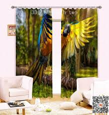 Jungle Blackout Curtains The New High Grade Global Limited Jungle Parrot To Create Shock 3d