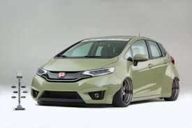 norm reeves honda toy drive 2015 honda fit takes sema show by storm