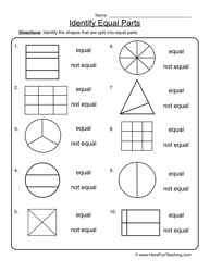 fractions equal parts worksheet 2 fractions worksheets and