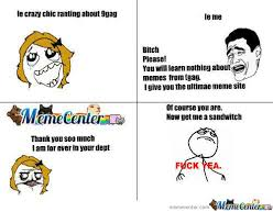 9 Gag Memes - le crazy chic ranting about 9gag le me bitch please you will