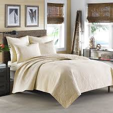 Quilted Bedspread King Amazon Com Tommy Bahama Nassau Ivory Quilt King Home U0026 Kitchen
