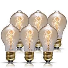 vintage edison bulbs 60w a19 antique style filament pendant