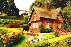Native House Design Design House Of Flowers Classic Cottage Garden Home Loversiq