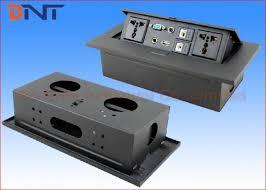 cm office desktop pop up power plug with vga rj45 power outlet
