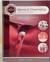 general chemistry laboratory notebook florida state university
