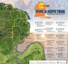 Michigan Prescription Maps by Michigan U0027s Sunrise Side Wine And Hops Trail Thunder Bay Tours